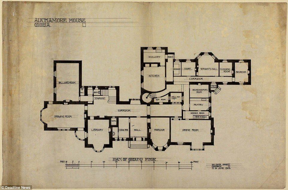 Scottish Island Mansion Designed By Charles Rennie Mackintosh On Sale Mansion Designs Country House Floor Plan Mackintosh Architecture