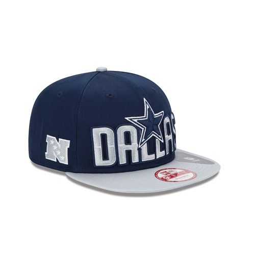 Dallas  Cowboys 2014 New Era® 9FIFTY® Snapback Draft Hat. Click to order! -   29.99  1fa702b8f35e