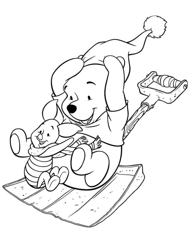 Print Piglet Coloring Page Free Bear coloring pages