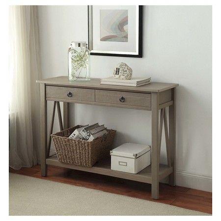 console table grey linon home decor - Linon Home Decor