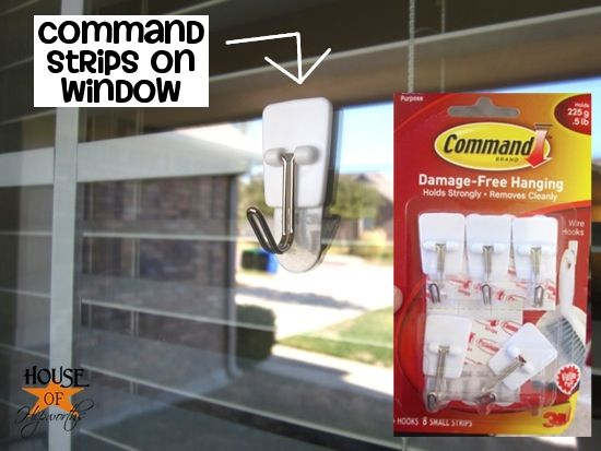 Use Command Strips To Hang Wreaths On Windows Duh Christmas Wreaths For Windows Window Wreath Outdoor Holiday Wreaths