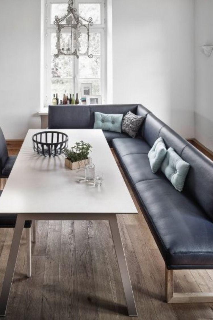 Unglaubliche Wirkung Mit Dunkelblau In 2020 Wohnen Zimmer Eckbank Modern