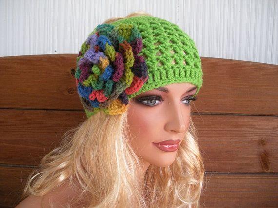 Womens Headband Crochet Headband Winter ♥ by creationsbyellyn, $15.50