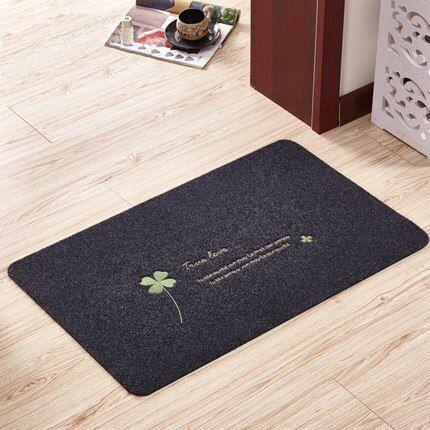 Wooden Door Style Floor Rug Carpet Mat Bathroom Home Non-slip Pad Door 40x60cm