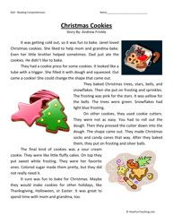Worksheets Christmas Reading Comprehension Worksheets 1000 images about reading comp on pinterest 3rd grade comprehension and third grade