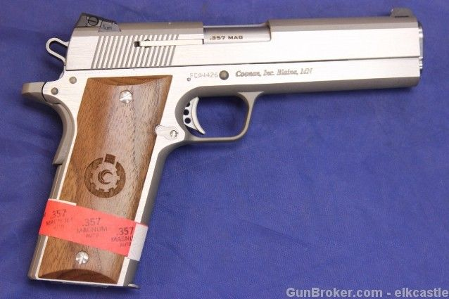 New Coonan Classic Stainless 1911 in  357 Magnum | New Guns