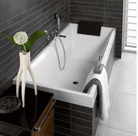 villeroy boch squaro inset bath sydney tap and bathroomware - Villeroy And Boch Baths