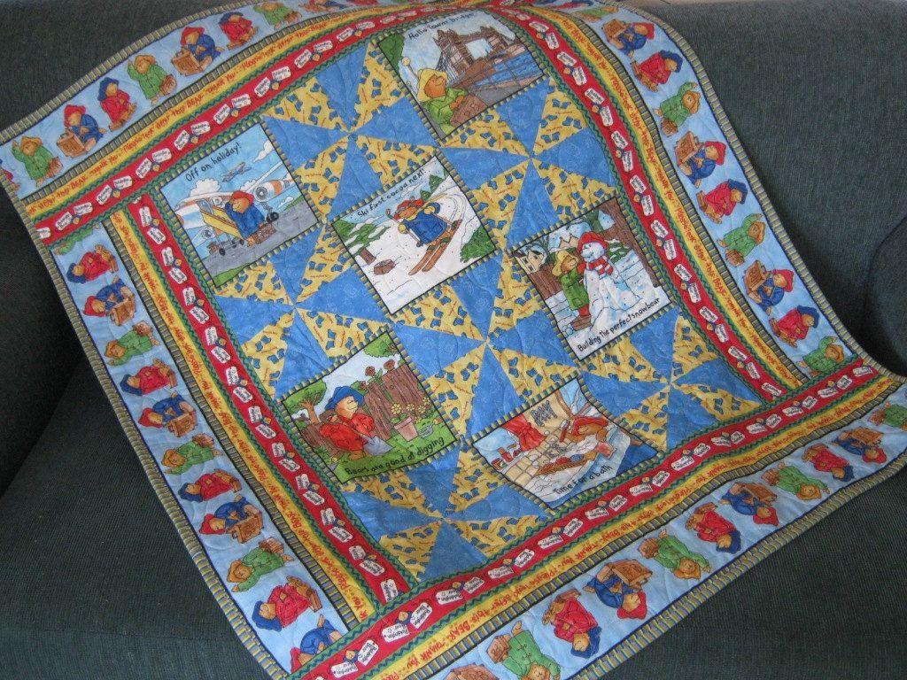 Paddington Bear Baby Quilt or Comforter. $155.00, via Etsy ... : paddington bear quilt - Adamdwight.com