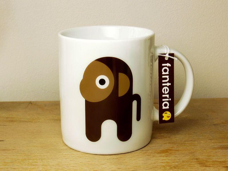 "cute mug MONKEY ""fanteria"" - made in germany :)"