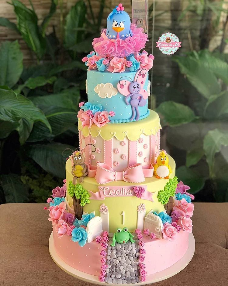 Pin Em Kids Cakes