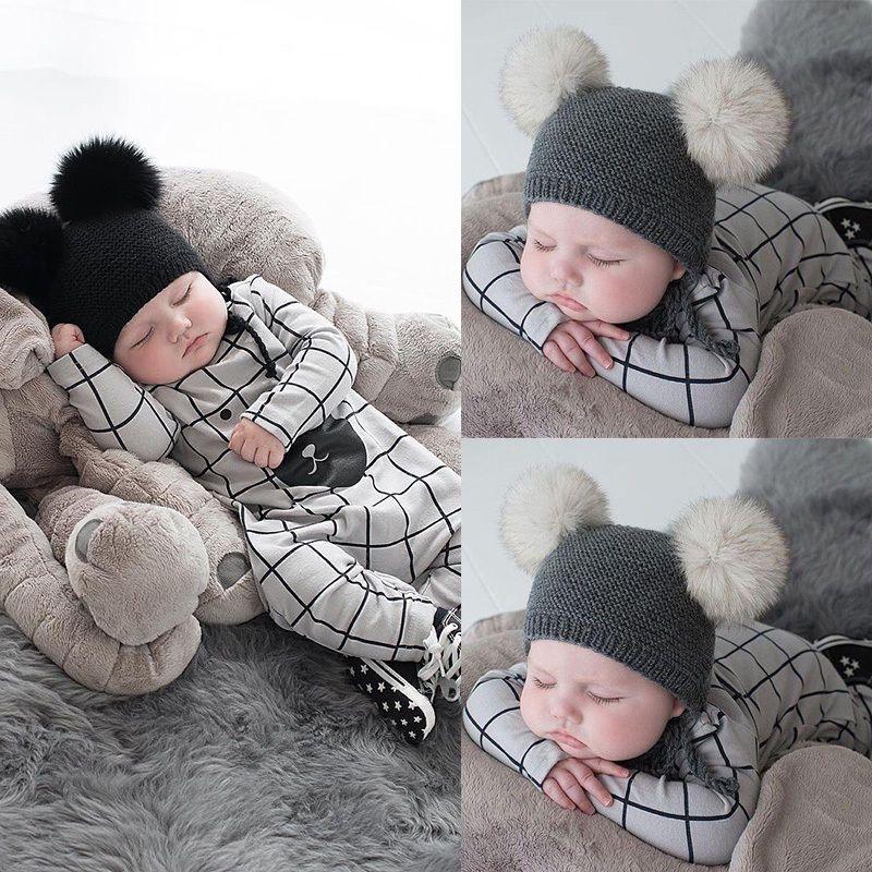 US Newborn Baby Boy Girls Bear Cotton Romper Jumpsuit Bodysuit Outfit Clothes