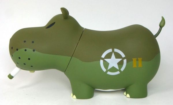 hippos in military | Frank Koziks 6 Inch Military Potamus 1 Frank Koziks 6 Inch Military ...