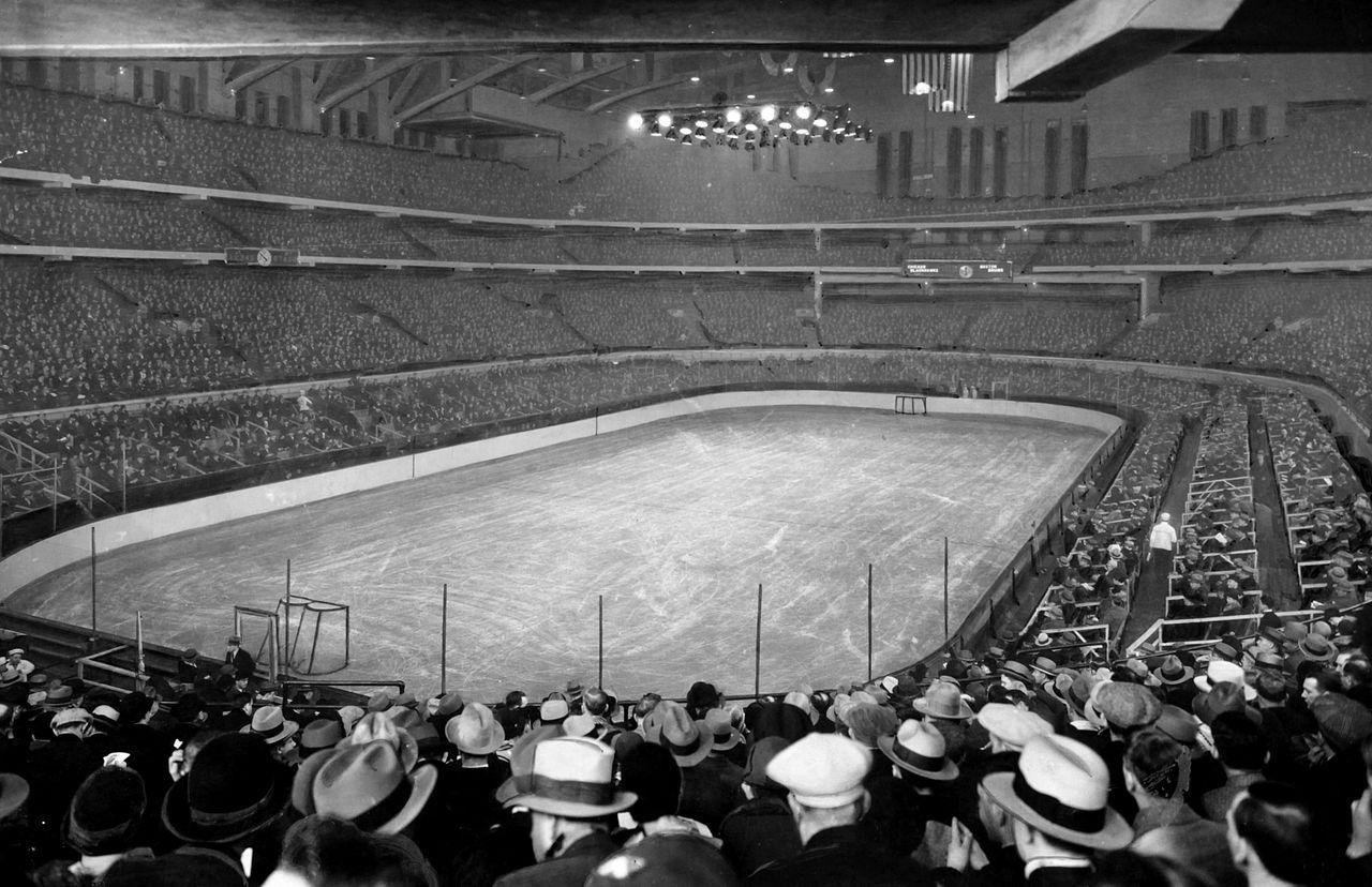 Chicago Stadium Blackhawks game 1930 Old Chicago in 2019