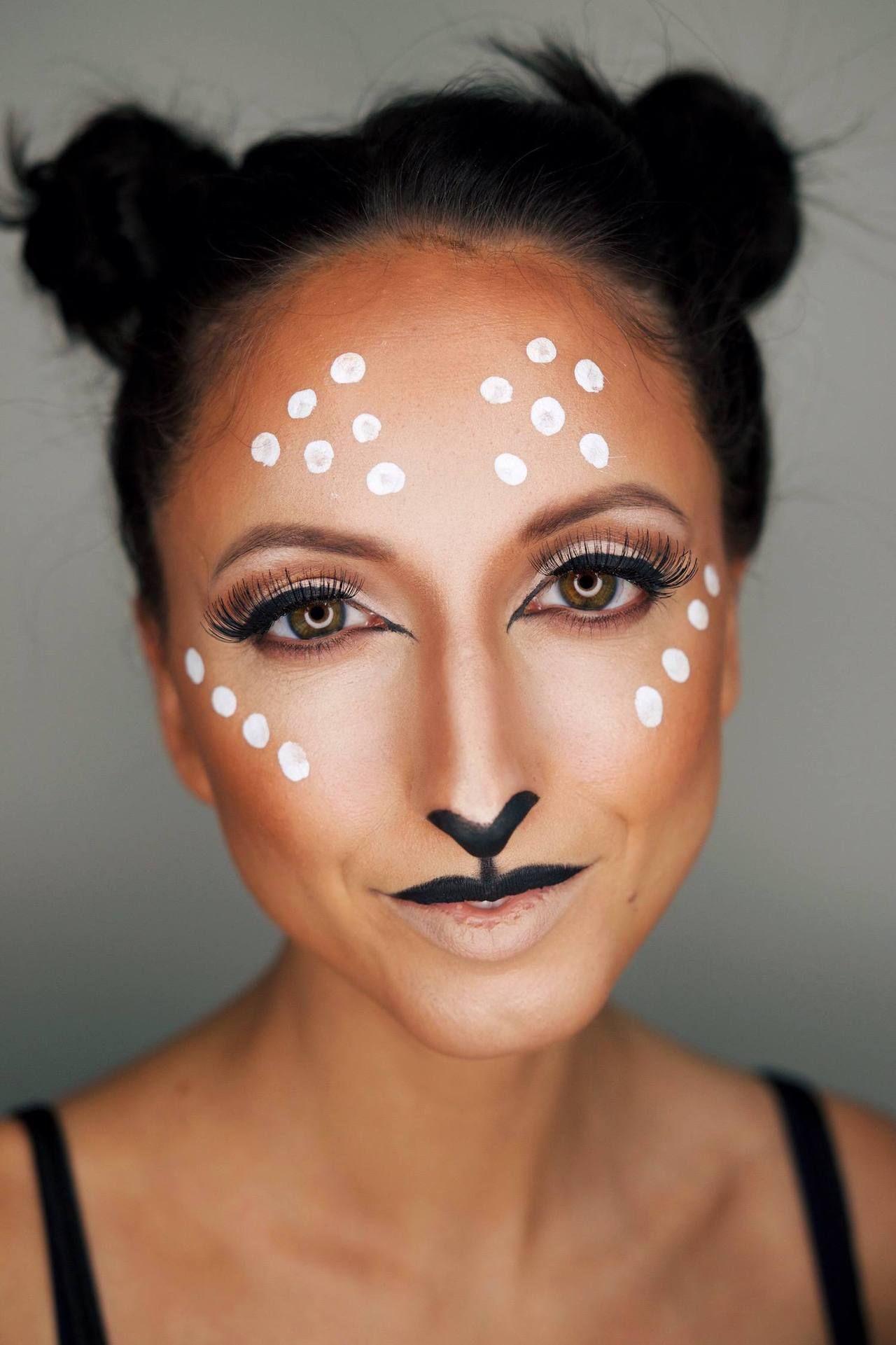 A Cute Last Minute Halloween Makeup Video Halloween