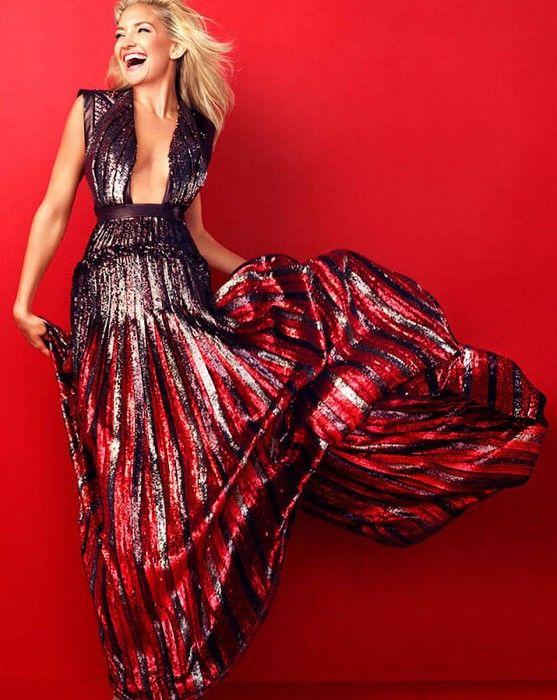 Kate Hudson for Harper's Bazaar December/January