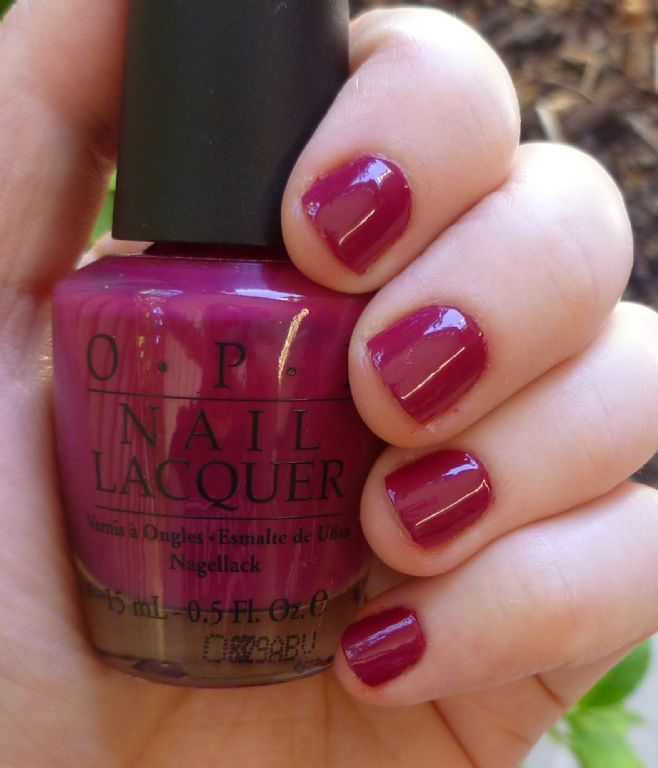 Nail Spa North Miami: OPI, Opi Miami Beet