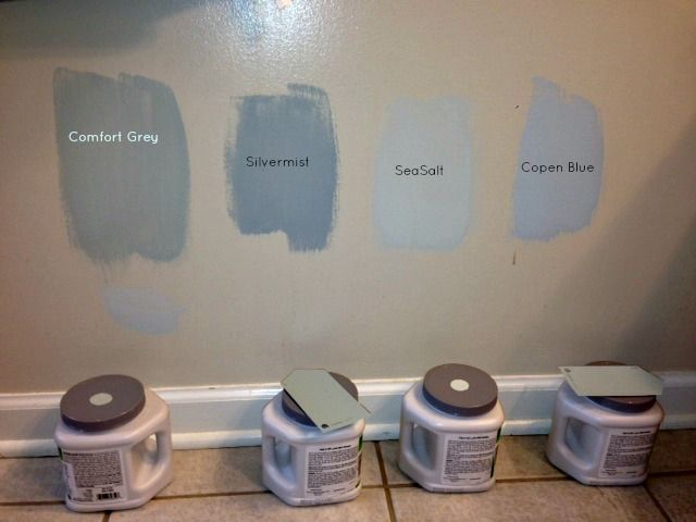 Sherwin williams silver grey colors of comfort grey for Silver mist paint color