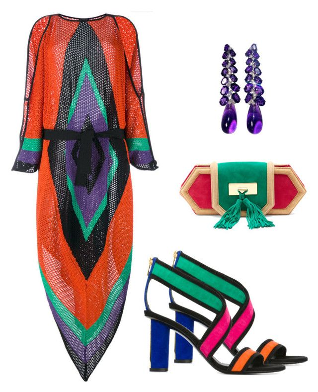 """""""Balmain!"""" by mireille-a ❤ liked on Polyvore featuring Balmain and polyvorefashion"""