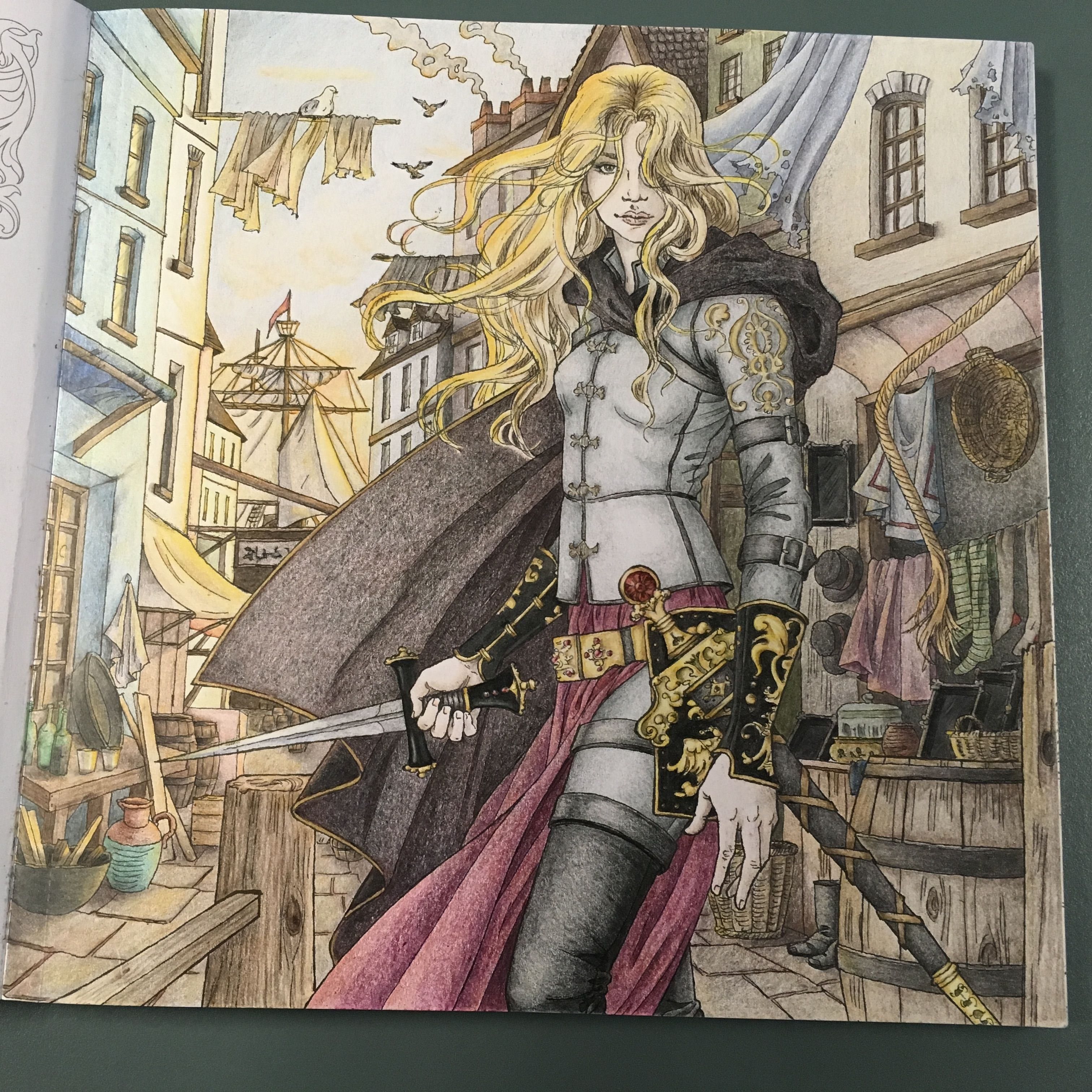 Throne Of Glass Coloring Book The Assassin And The Pirate Lord