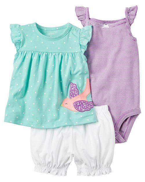 219bfb765 Moda primavera verano 2018 ropa para bebés. Carter s ropa para bebés  primavera verano 2018.