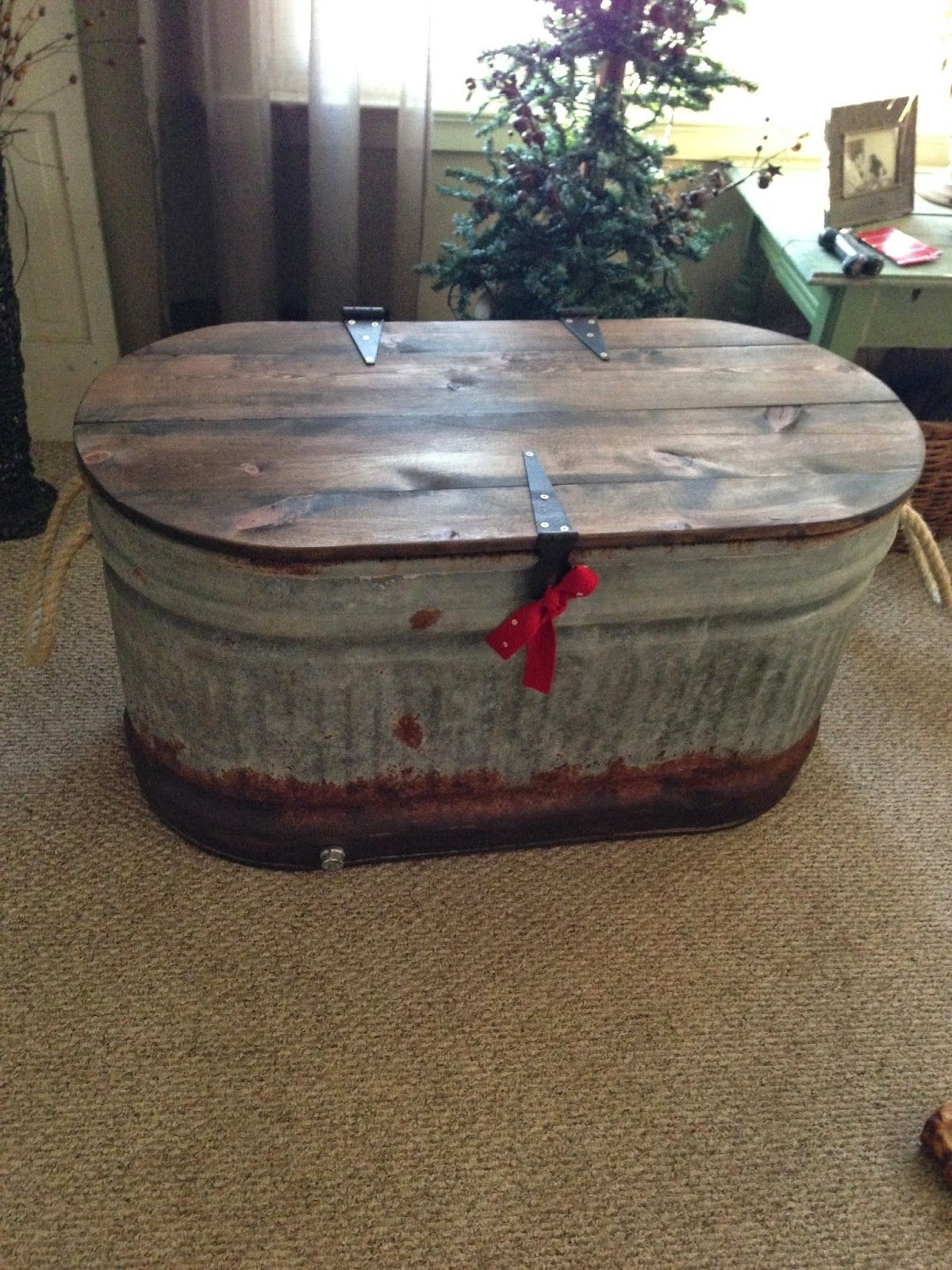 Image Result For Stock Tank Table Diy Stock Tank Stock Tank Galvanized Water Trough