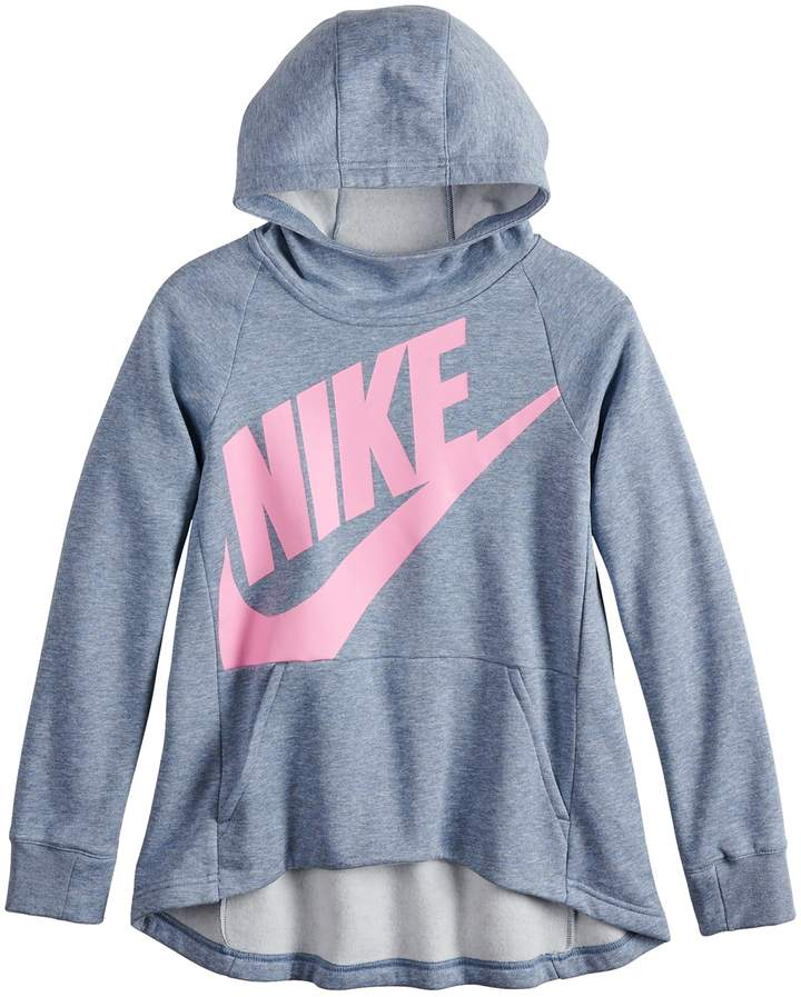 e68d16f60a56 Nike Girls 7-16 Pullover Hoodie Sweatshirt in 2019