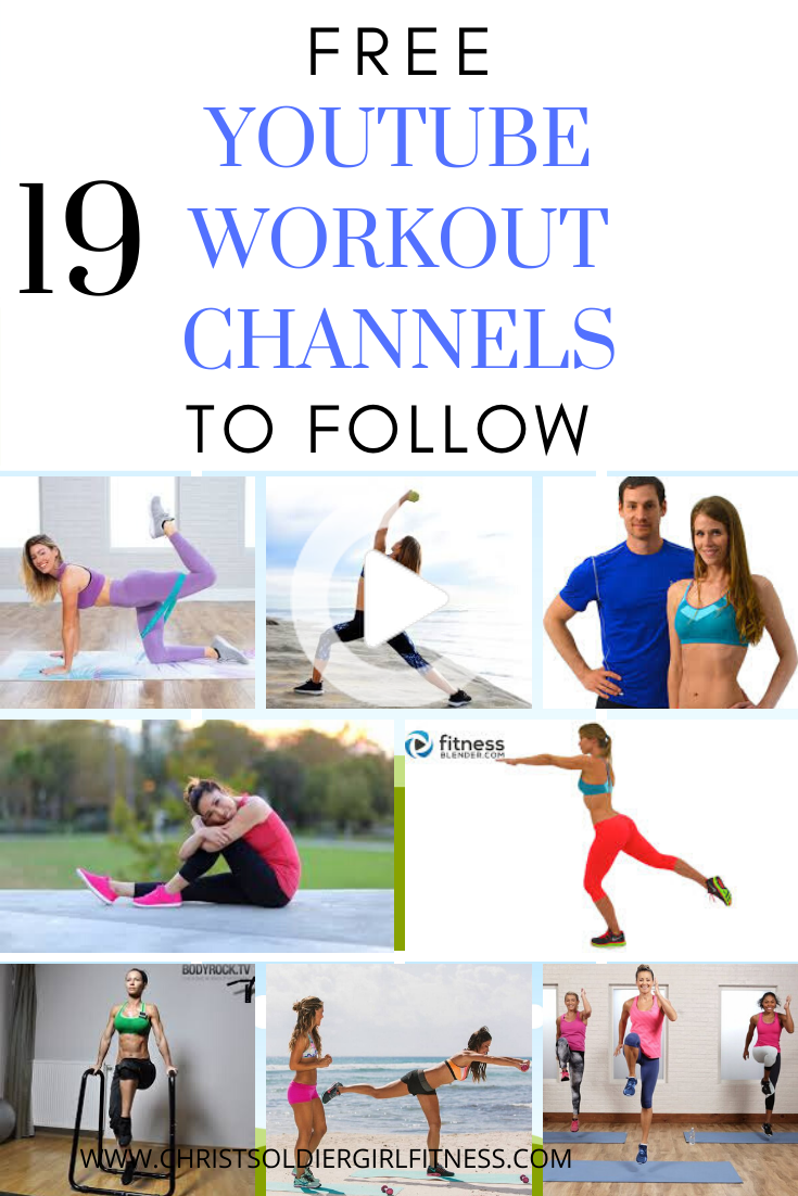 Top Free Youtube Workout Channels To Follow In 2020 Effective Workout Plan Youtube Workout Workout Videos Free