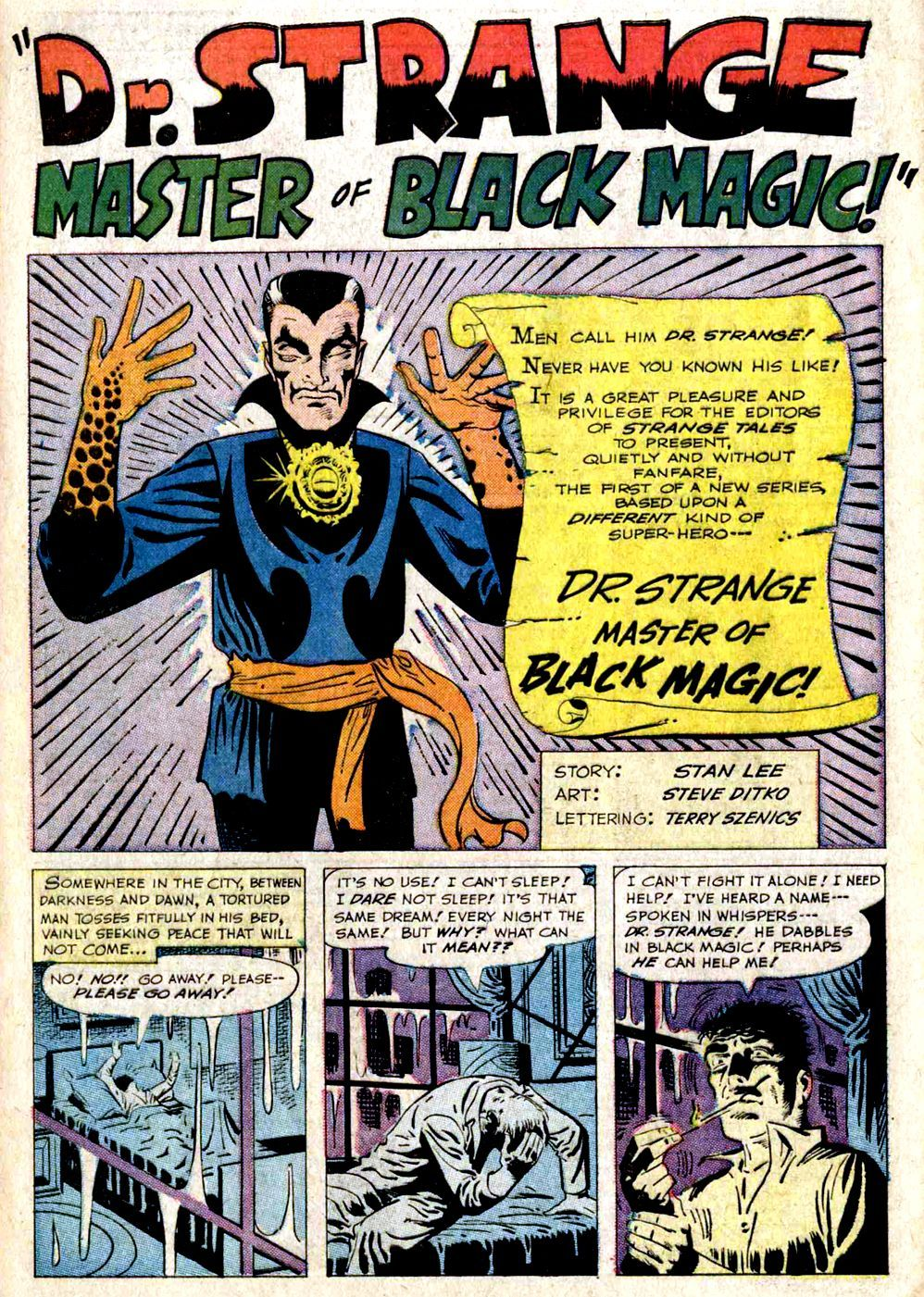Strange Tales 110(1963) (digital) Dr.Strange  First Comic And ( appearance)