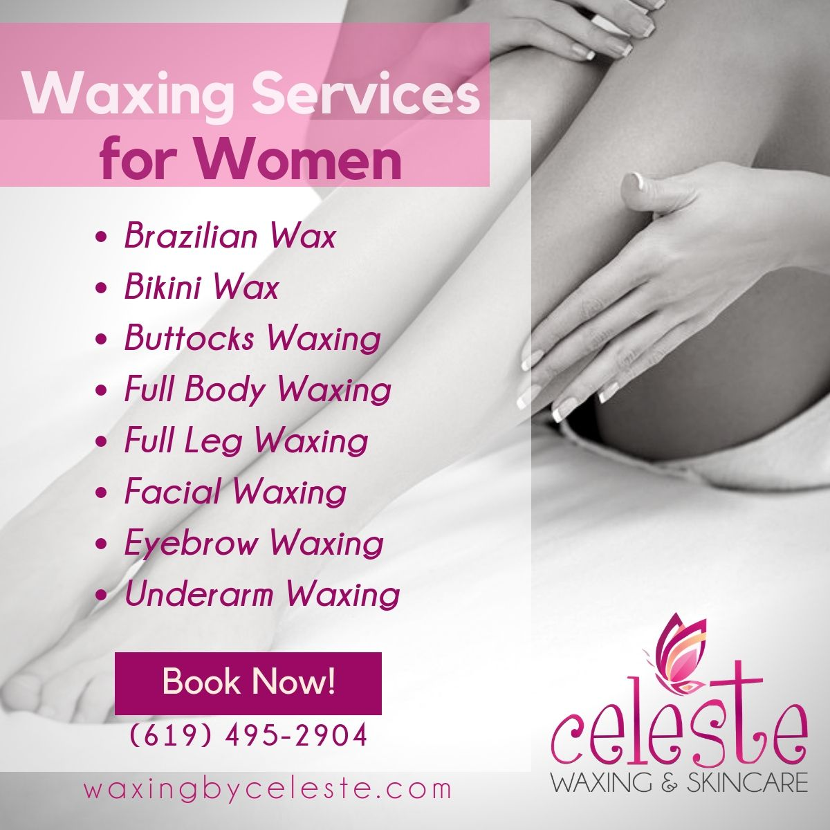 Our Spa Specializes In Waxing And We Provide A Long List Of Services From Eyebrow To Feet Waxing We Are Best Known For O Brazilian Waxing Body Waxing Waxing
