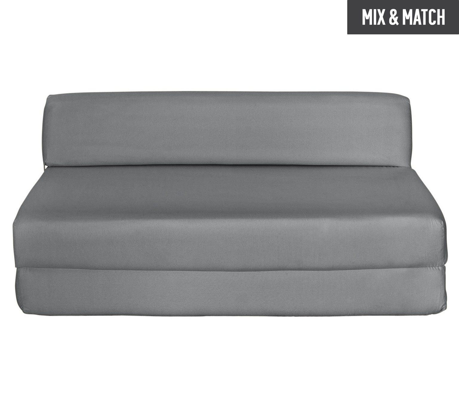 Buy Colourmatch Small Double Fabric Chairbed Flint Grey At Argos Co Uk Visit Argos Co Uk To Shop Online For Sofa Beds Chairbeds And Fu Grey Sofa Bed Comfort Mattress Chair Fabric