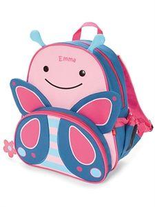 Rosa ryggsäck med namn från Skip Hop  0c7f8bd593a8e