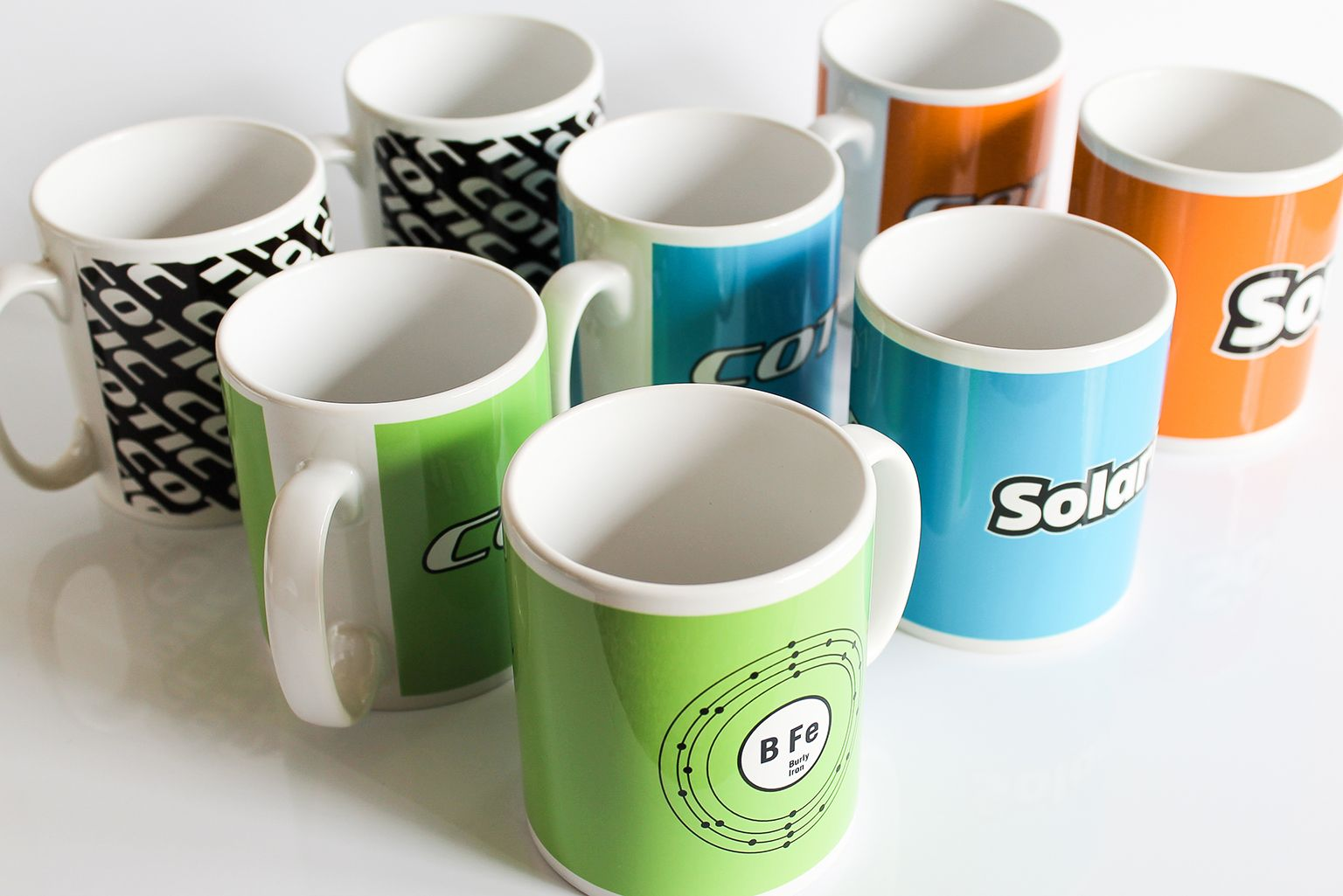 Cotic Mugs On Sale!  Just in time for Christmas presents! Cotic Bikes have just received these fantastic mugs that we have produced for them.  These mugs with their bright colours will cheer anybody up when they are having a morning cuppa and biscuits.