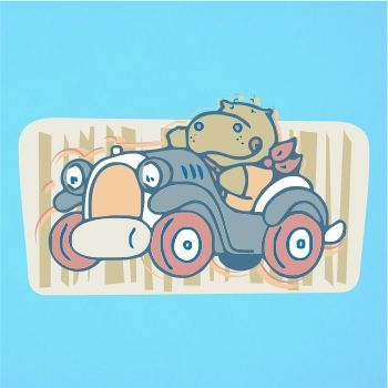 Hippo abstract paintings hippo driving car vector design hippo abstract paintings hippo driving car vector design yougraph fandeluxe Choice Image