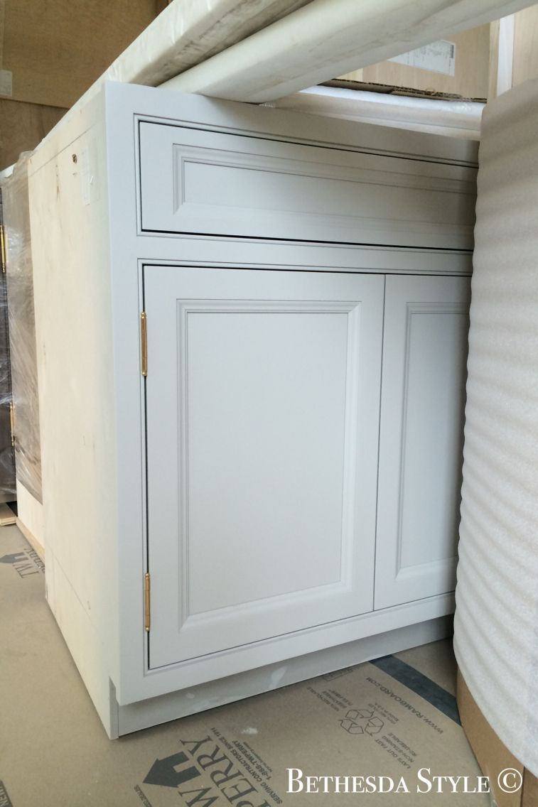 BethesdaStyle ~ Kitchen Cabinets in Oyster by #Lobkovich ...