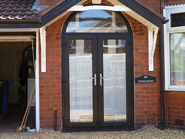 Modern, Energy Efficient UPVC Door, Including Front And Back, And Patio  Doors,
