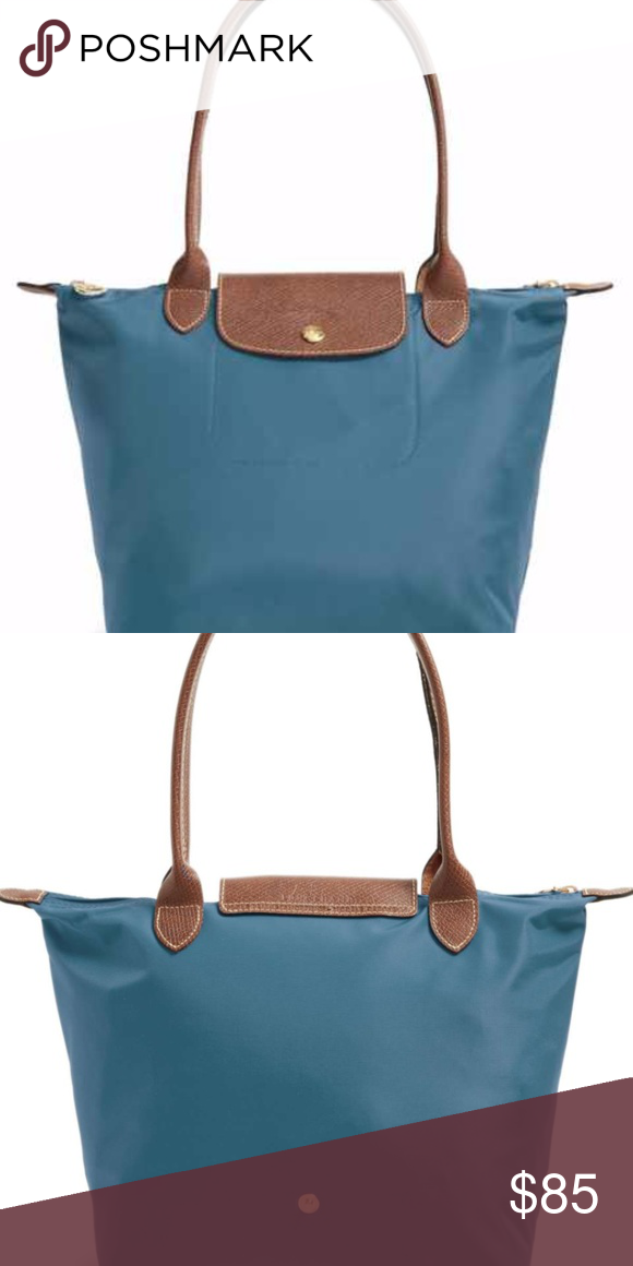 0b1538f1a42 Longchamp  Small Le Pliage  Shoulder Tote–Peacock the perfect sized tote, in