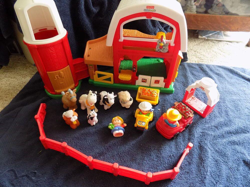 "FisherPrice Little People ""Animal Sounds Farm"" Barn"