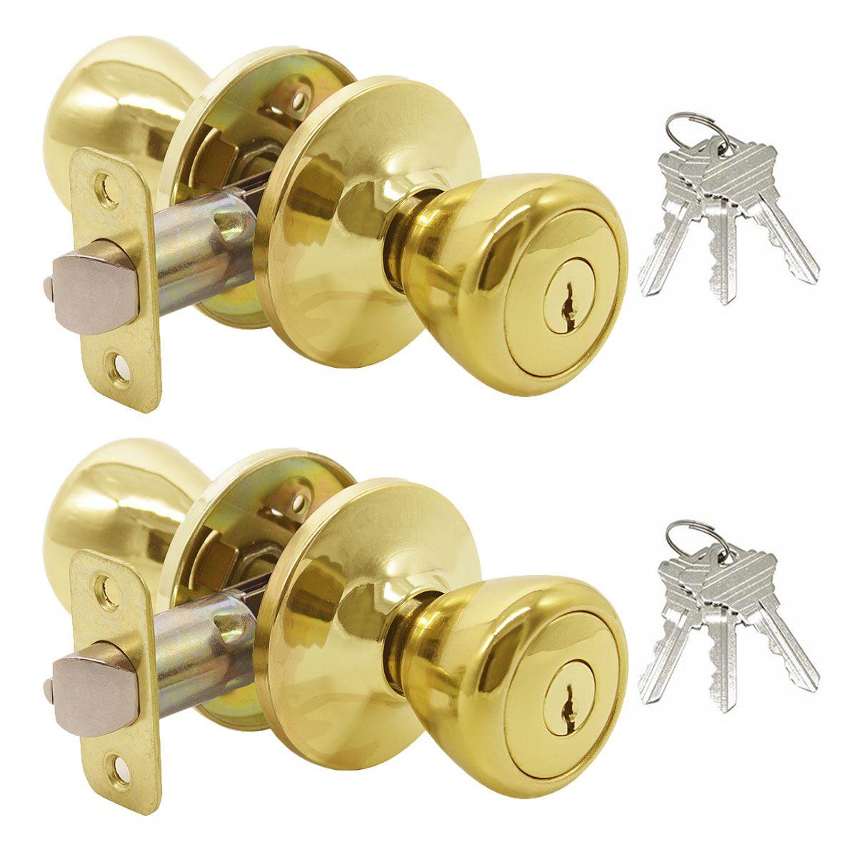 Single Connecting Rod Door Knobs Entranceprivacypassagedummy