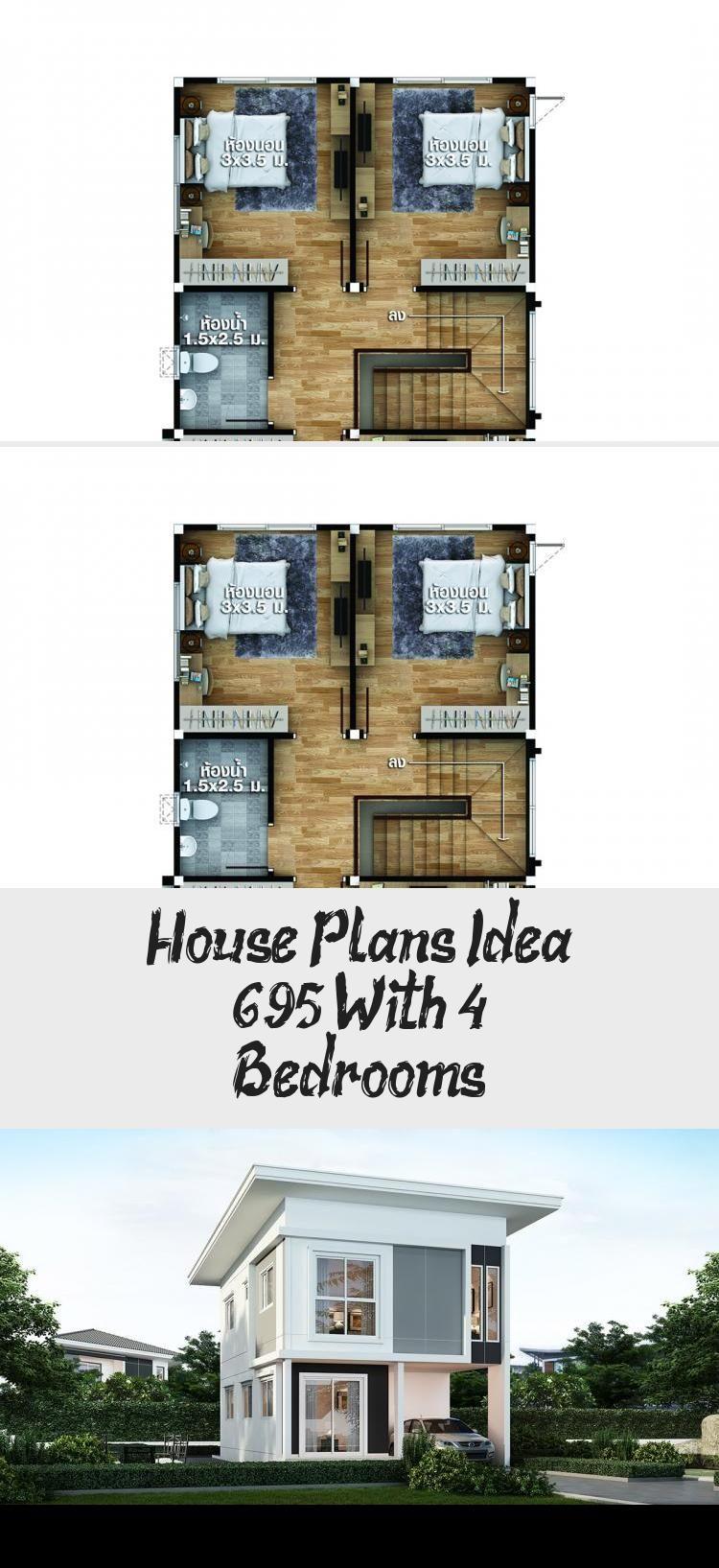 House Plans Idea 6x9 5 With 4 Bedrooms Sam House Plans Houseplansnewzealand Acadianhouseplans Medite In 2020 House Plans Acadian House Plans Victorian House Plans