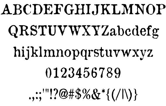 Old Newspaper Types Font Manfred Klein Fontspace Old Newspaper Font Types Newspaper