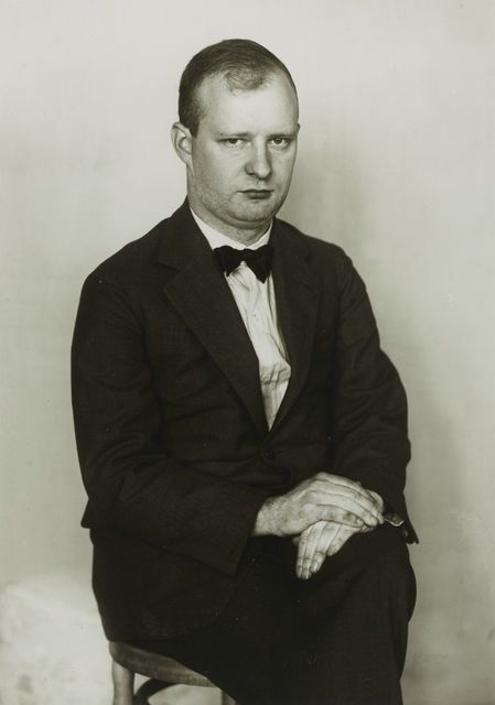 The Composer [Paul Hindemith], ca. 1925, by August Sander