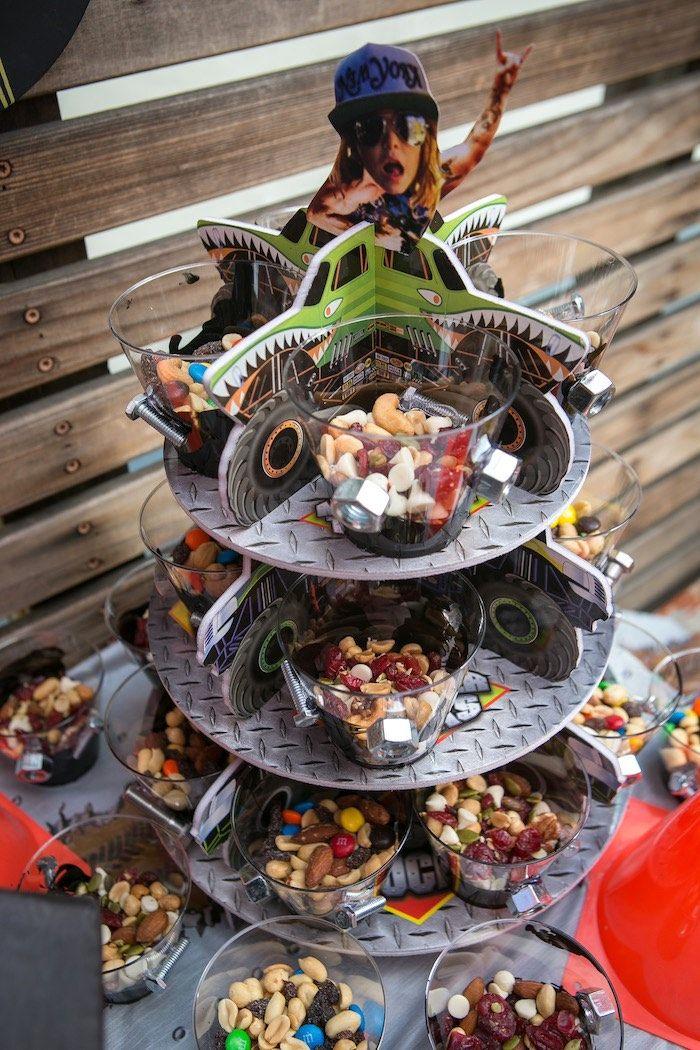 Monster Truck Birthday Party | Pinterest