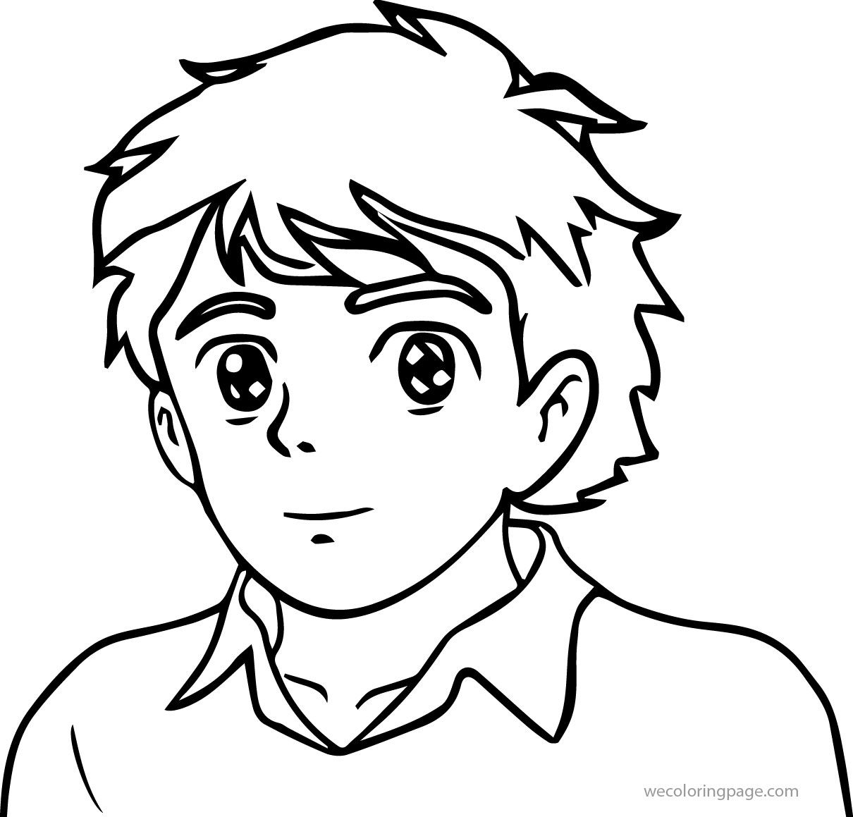 Cute Cartoon Person Coloring Page Wecoloringpage Com Cartoon Coloring Pages Coloring Pages Disney Coloring Pages