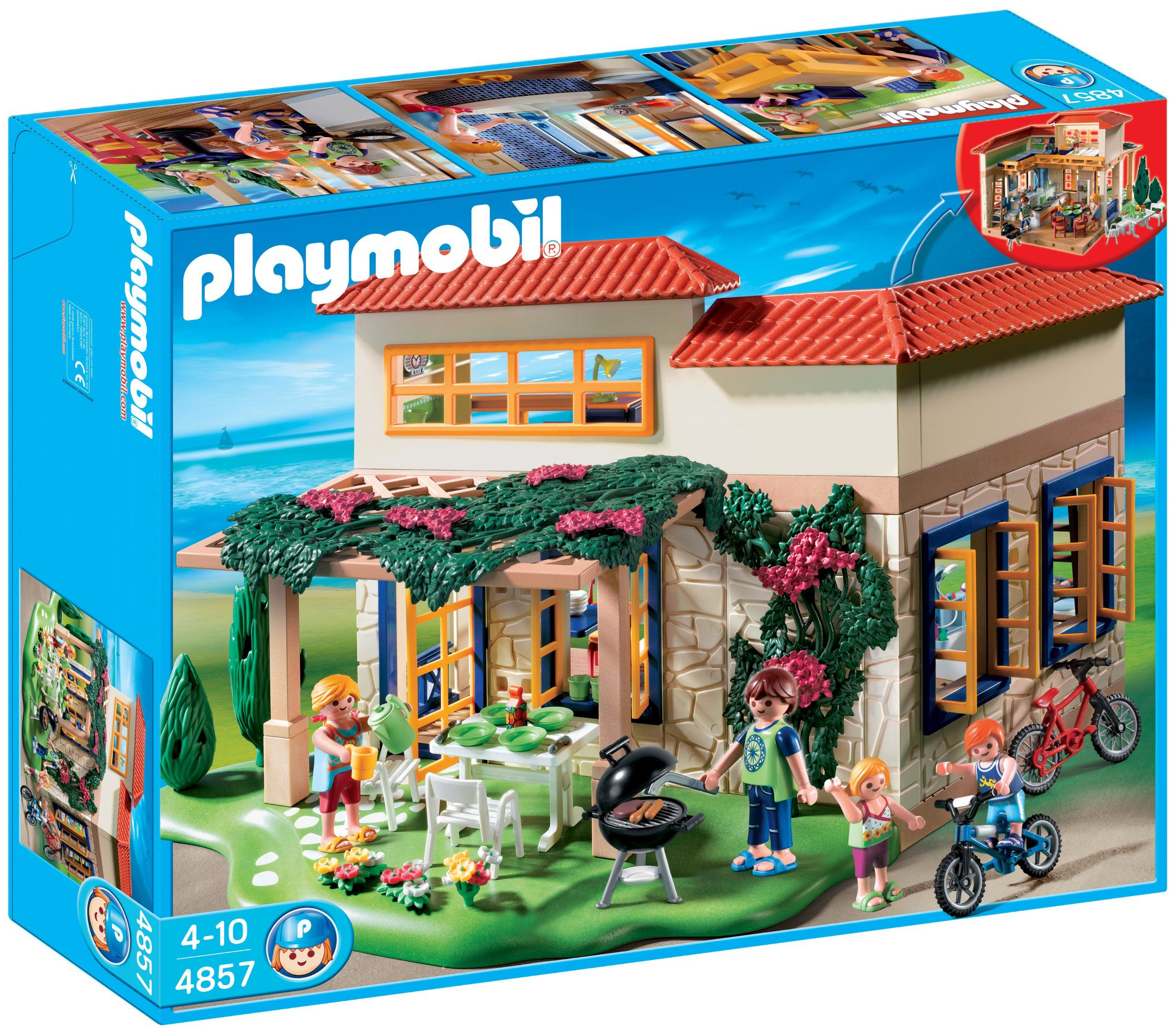 Playmobil 4857 jeu de construction maison de - Jeu de construction de maison virtuel ...