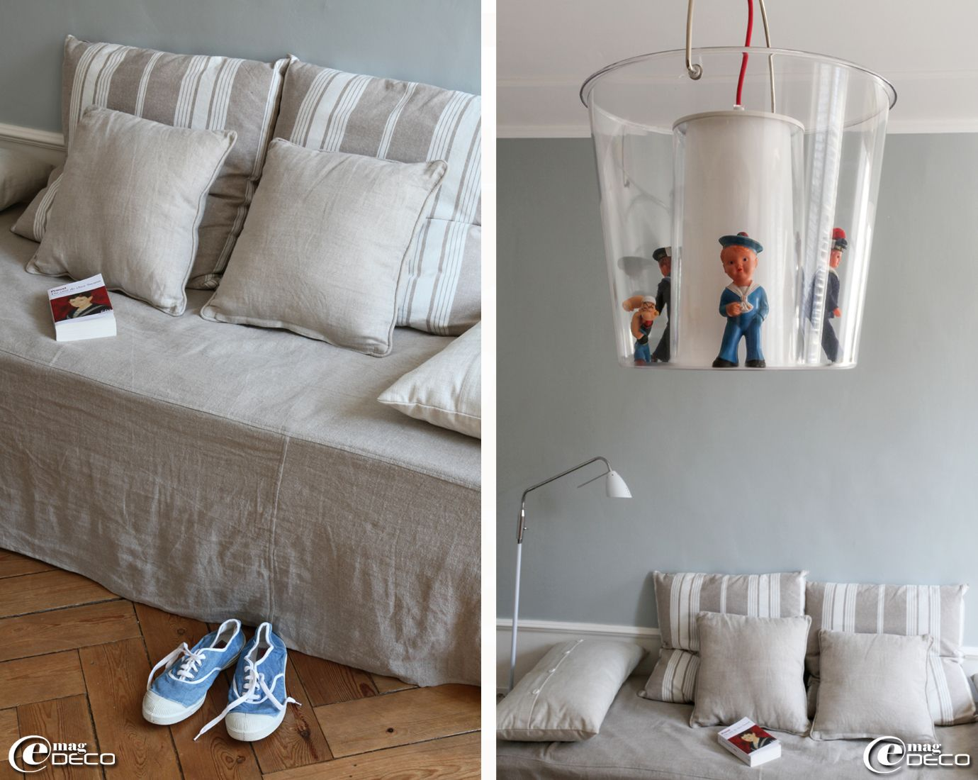 Clever idea for kids lighting home sweet home - Jete de lit maison du monde ...