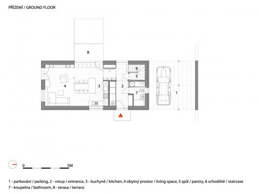 Small House With The View A1 Architects Small House Ground Floor Plan Floor Plan Drawing