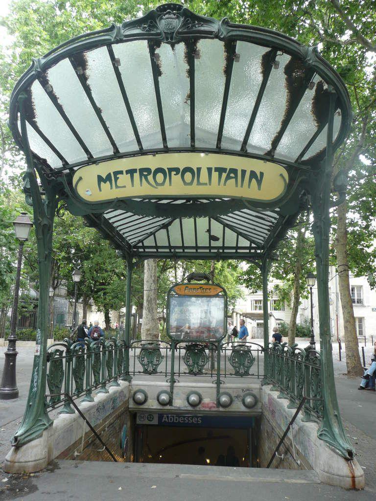 Plaque Metro Parisien Deco zoom sur… hector guimard | architecture art nouveau, paris