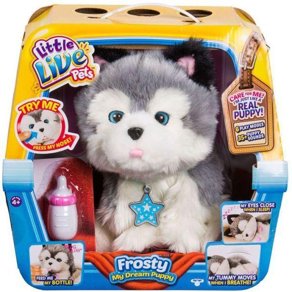 Little Live Pets My Dream Puppy Husky Frosty Little Live Pets Puppies Husky Puppy
