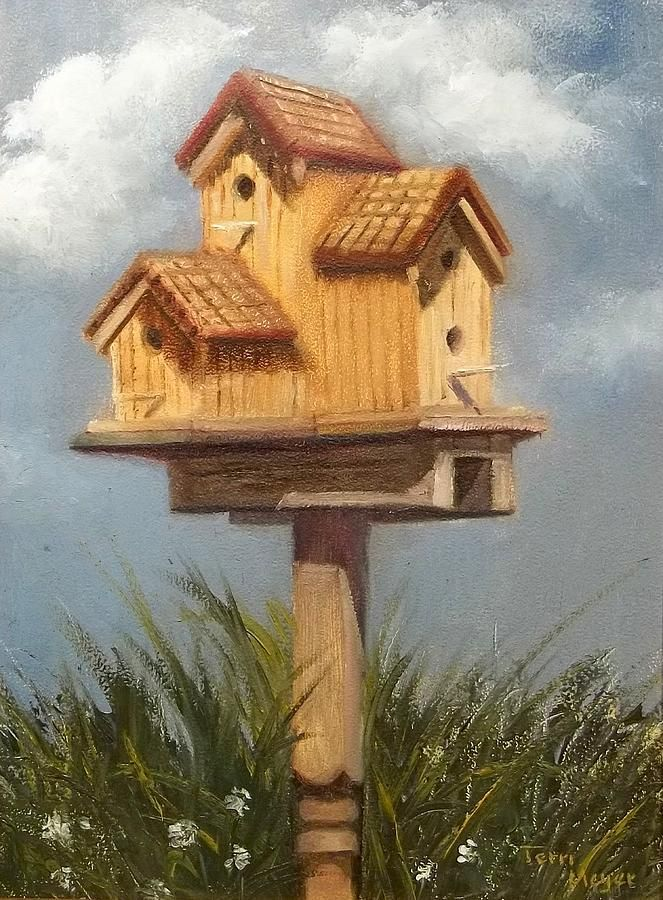 birdhouse - Big Bird House Plans