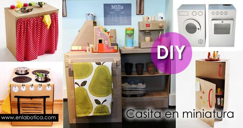 DIY: casita en miniatura